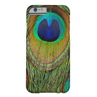 Male peacock tail feathers barely there iPhone 6 case