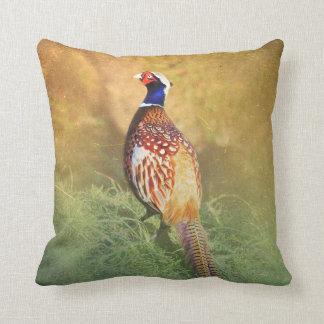 Male Pheasant Cushion