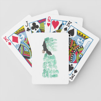 Male Pine Spirit Bicycle Playing Cards