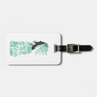 Male Pine Spirit Luggage Tag