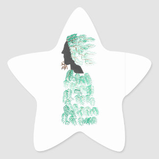 Male Pine Spirit Star Sticker