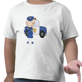 Male Police Officer Tshirts and Gifts