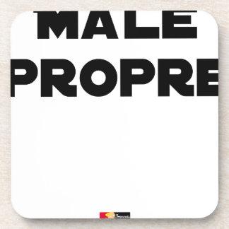 MÂLE-PROPRE - Word games - François City Coaster