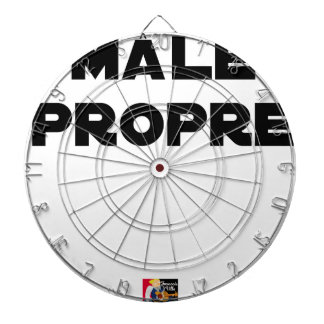 MÂLE-PROPRE - Word games - François City Dartboard