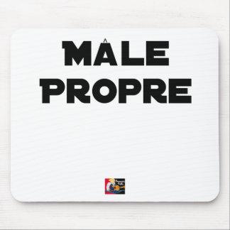 MÂLE-PROPRE - Word games - François City Mouse Pad