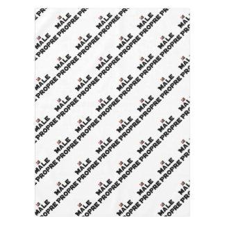 MÂLE-PROPRE - Word games - François City Tablecloth