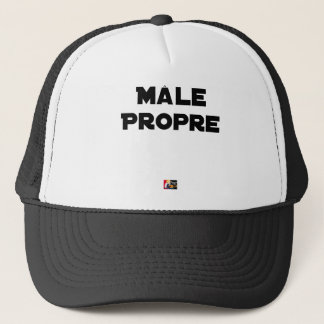 MÂLE-PROPRE - Word games - François City Trucker Hat
