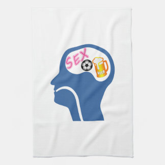 Male Psyche Kitchen Towel