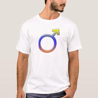 Male Symbols Theme T-Shirt