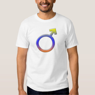 Male Symbols Theme T-shirts