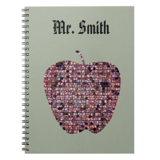 Male Teacher Appreciation End of Year Thank You Notebook