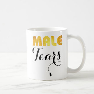 Male tears coffee mug