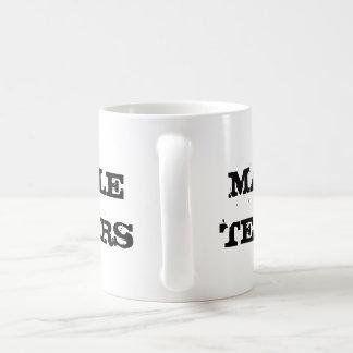 Male tears mug