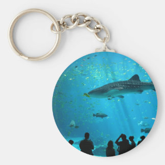 Male Whale Shark at Georgia Aquarium Keychain