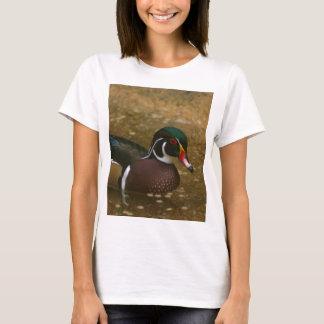 Male Wood Duck T-Shirt