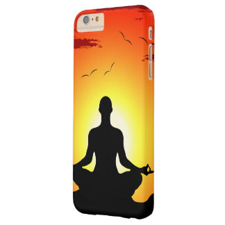Male Yoga  Meditation Sunshine Barely There iPhone 6 Plus Case