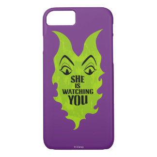 Maleficent - She is Watching You iPhone 8/7 Case