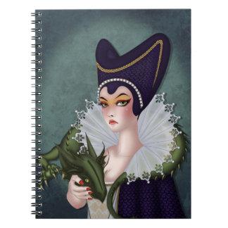 Maleficent Spiral Notebook