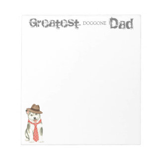 Malemute Dad Notepad