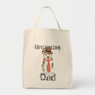 Malemute Dad Tote Bag