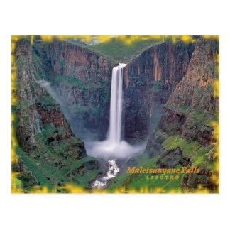 Maletsunyane Falls Postcard