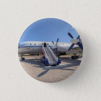 Malev Airlines Ilyushin IL-18 1 Inch Round Button