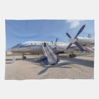 Malev Airlines Ilyushin IL-18 Kitchen Towel
