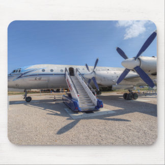 Malev Airlines Ilyushin IL-18 Mouse Pad