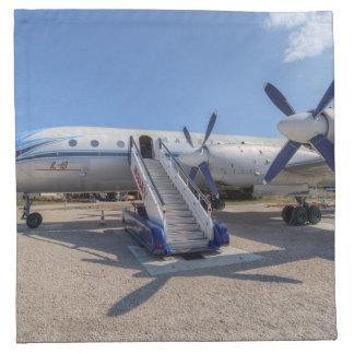 Malev Airlines Ilyushin IL-18 Napkin