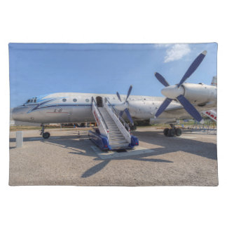 Malev Airlines Ilyushin IL-18 Placemat