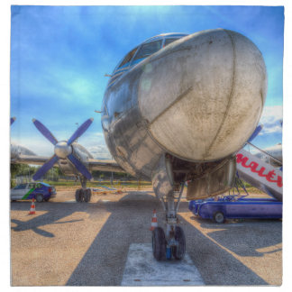 Malev Hungarian Airlines Ilyushin IL-18 Napkin