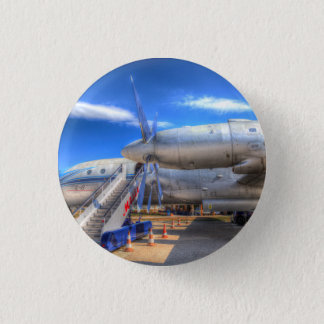 Malev  Ilyushin IL-18 1 Inch Round Button