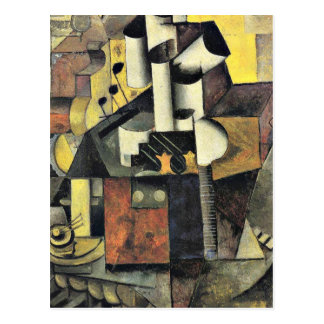 Malevich - Musical Instrument Postcard