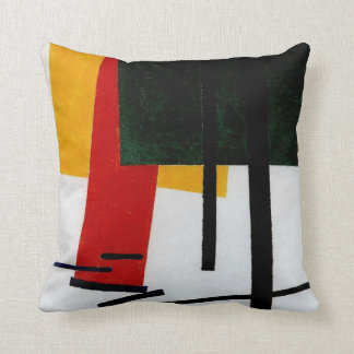 Malevich - Suprematism 1915 Throw Pillow