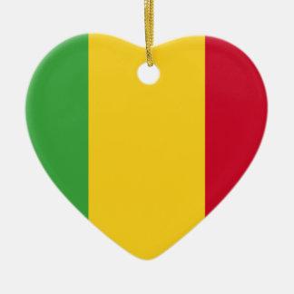 Mali Ceramic Heart Ornament