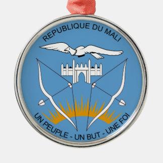 Mali Coat of Arms Metal Ornament