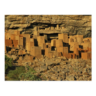 MALI, Dogon Lands. Traditional Tellem malian Postcard