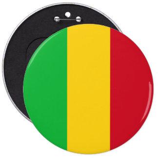Mali Flag 6 Inch Round Button