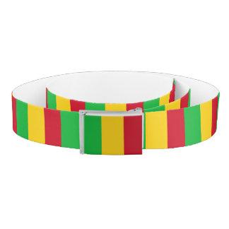 Mali Flag Belt