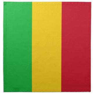 Mali Flag Cloth Napkins