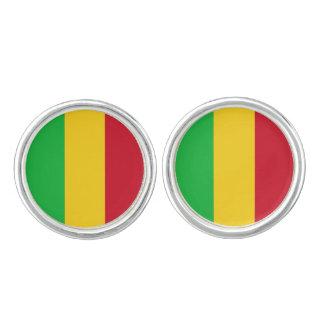 Mali Flag Cuff Links