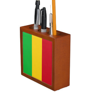 Mali Flag Desk Organizer