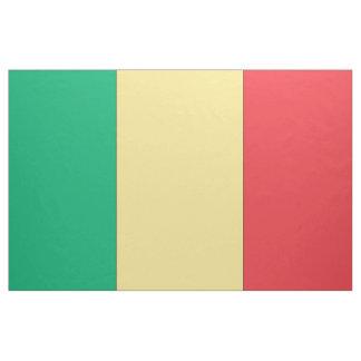Mali Flag Fabric