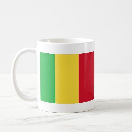 Mali Flag ~ Map Mug