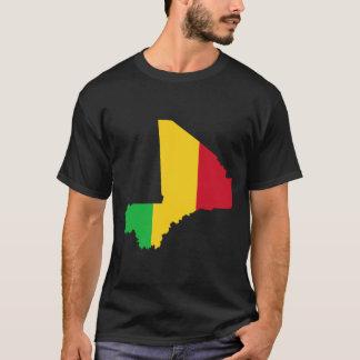 Mali Flag Map T-Shirt