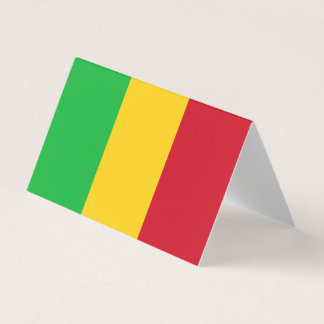 Mali Flag Place Card