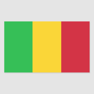 Mali Flag Sticker