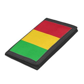 Mali Flag Trifold Wallet