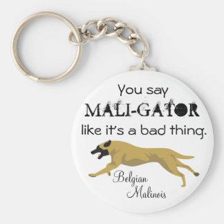 Mali-Gator Keychain