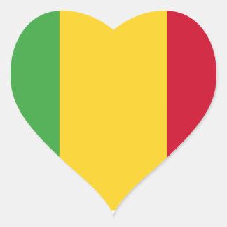 Mali Heart Sticker